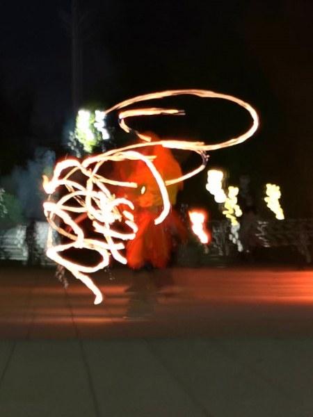 Мистично шоу запламтя в центъра на Пловдив