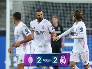 Реал се измъкна от втора поредна загуба, Байерн и Ливърпул с икономични победи