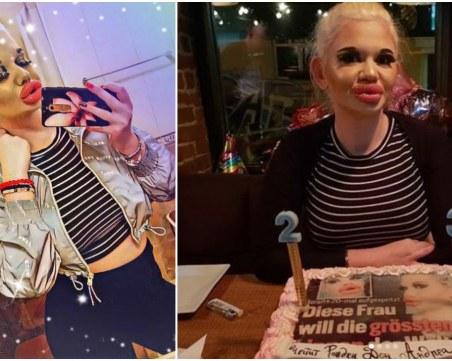 БГ Барби стана на 23, посреща 2021 с пищен силиконов бюст