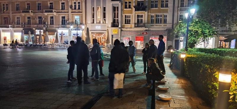 Традиционният протест в Пловдив се стопи