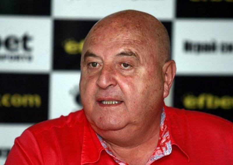 Венци Стефанов: Над 10 болни в Славия, може и да няма мач с Ботев