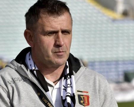 Бруно Акрапович: Разполагаме с хубав и качествен отбор