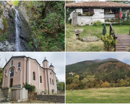 На 60 км от Пловдив: Красив водопад и пропити с история манастир и воденица