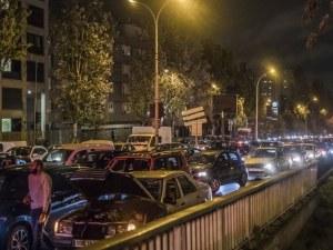 Рекорден трафик! Парижани се изнесоха от столицата, прекарват втората карантина в провинцията