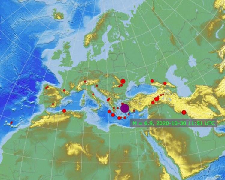Трус от 7 по Рихтер на гръцки остров! Усети се и в България