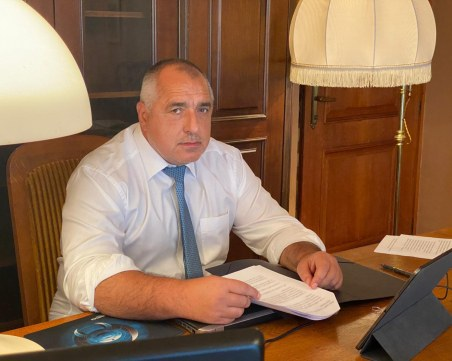 Борисов благодари на Меркел за подкрепата при преговорите със Северна Македония