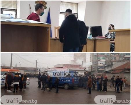 Дрифт и гонка в Пловдив, пловдивчанин е наказан с присъда