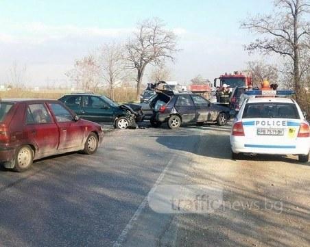 Жестока катастрофа край Велинград! Жена загина, а дете е ранено след челен сблъсък