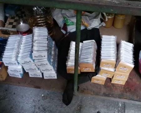 На сергия в Гагарин: Пловдивчанин продавал цигари, редом с плодове и зеленчуци
