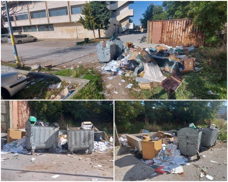 Смрад и грозота в Пловдив! Сметище запуши пешеходна пътека до ЖП управлението