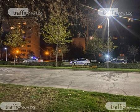 Три патрулки на пловдивски булевард след инцидент с пешеходец, той е в болница