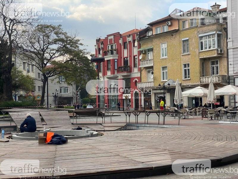 Коледен дух в Пловдив, градът се готви за празниците