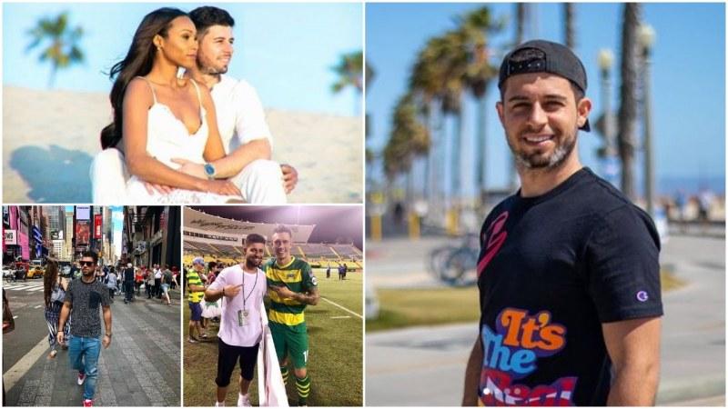 Бивш футболист от Пловдив за живота в ЛА и любовта с красива афро-американка
