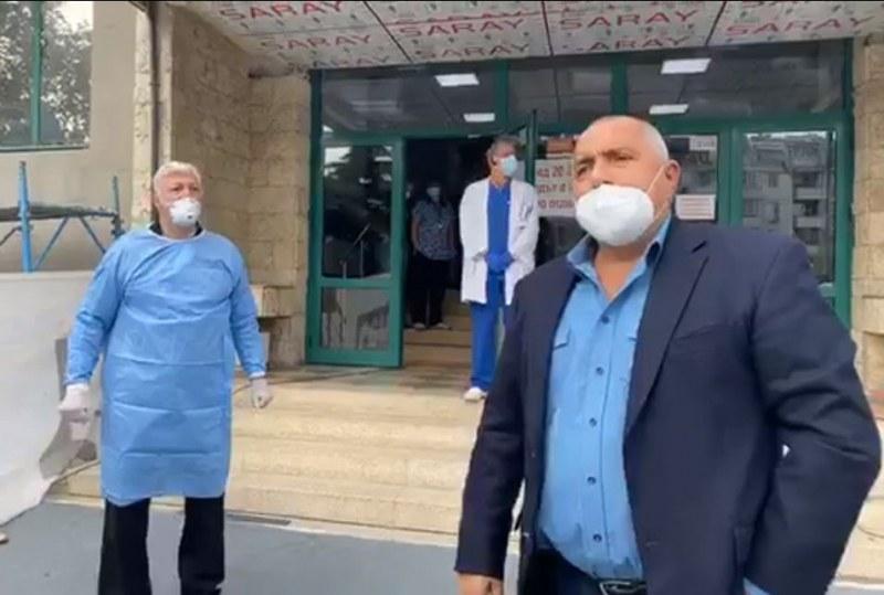 Борисов при Зико в болницата, каза на лекарите да го пускат да работи