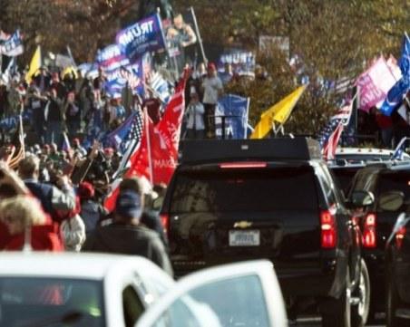Хиляден протест във Вашингтон! Поддръжници на Тръмп блокираха улици