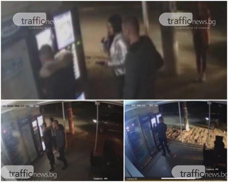 За забавление: Младежи трошат и крадат от магазин край Пловдив, камера улови лицата им
