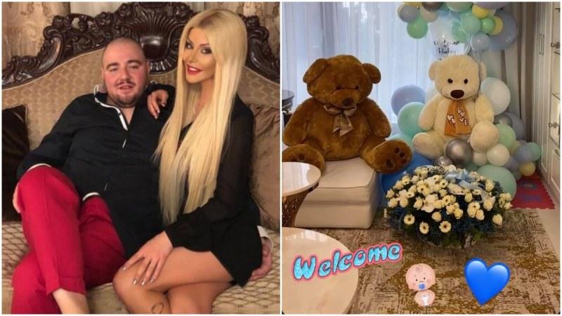 Официално: Светлана Гущерова дари любимия си със син