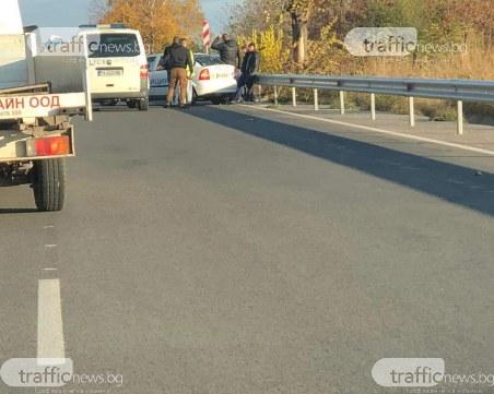 Има пострадал при тежката катастрофа на пътя Пловдив – Пазарджик