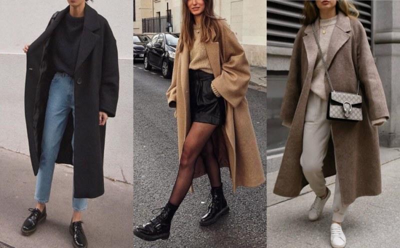 Дълго палто - задължително модно парче за студения сезон