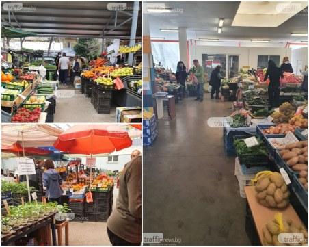 НАП влезе и по пазарите в Пловдив, има хванати в издънка