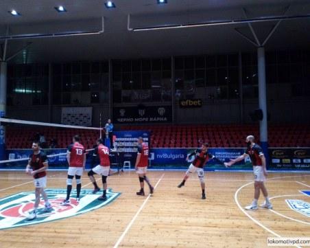 Волейболният Локомотив спечели във Варна