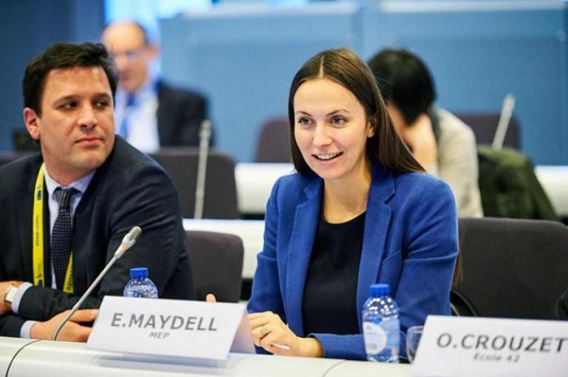 Ева Майдел беше преизбрана начело на Международното Европейско движение