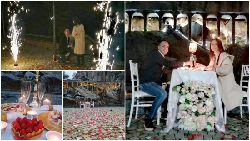 Път, постлан с рози: Предложението за брак на д-р Милен Карагеоргиев от Пловдив