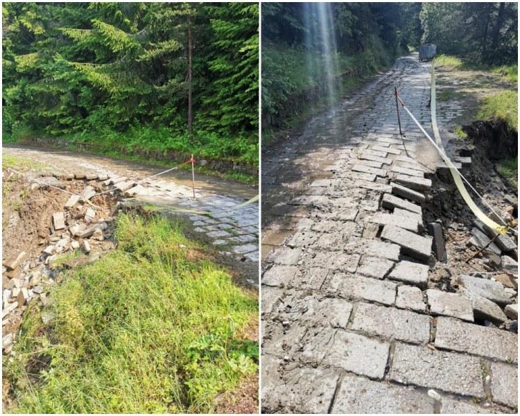 Вили остават откъснати от света в Ситово, комисия бави отварянето на пътя