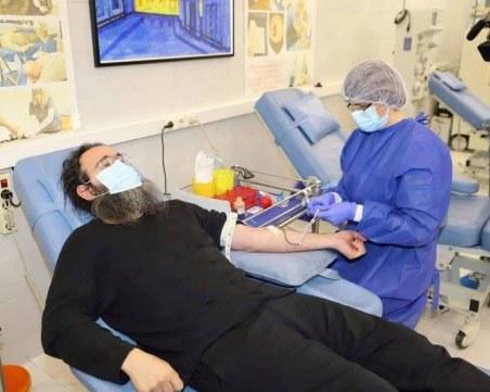 Свещеници дариха кръв в Деня на християнското семейство