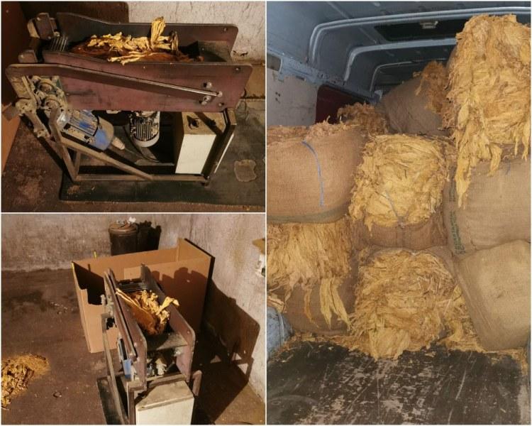Арести в Пловдив и областта! Разкриха цех за тютюн, пипнаха и близо 1,5 тона алкохол