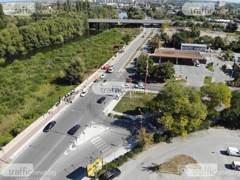 26-годишен се хвърли в Марица в опит да избяга от пловдивски полицаи