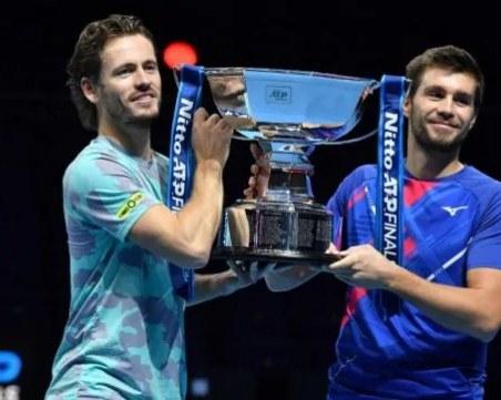 Изненадващи победители на двойките в Лондон