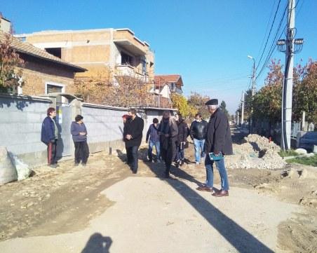 """Зам.-кметът на """"Родопи"""" инспектира важни строителни обекти"""