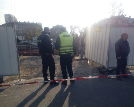 Aрматурно желязо падна от строеж в София! Има загинал и ранени