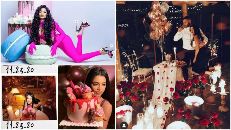 Нова звезда на бг сцената празнува рожден ден сред романтика и рози
