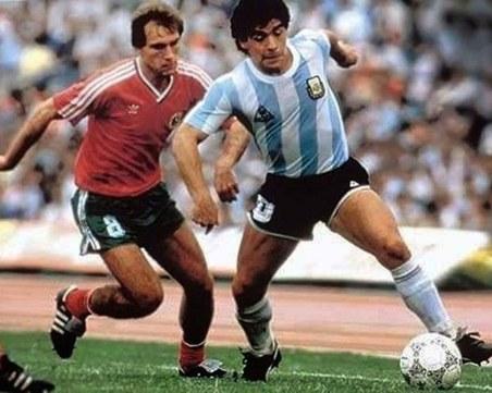 Легендите не умират! Великите Марадона и Аян Садъков на Световното по футбол през 86-та