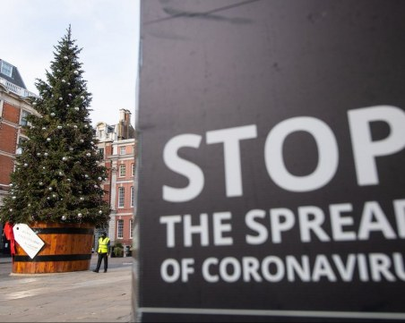 Обединеното кралство облекчава мерките срещу COVID-19 за Коледа