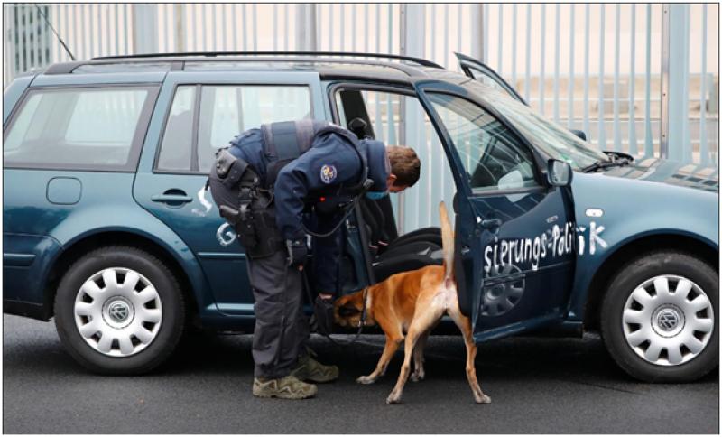 Кола се заби в офиса на германския канцлер Ангела Меркел