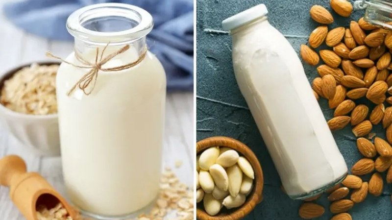 Овесено или бадемово мляко: Кое е по-добро?