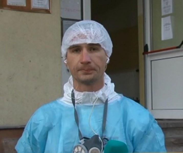 Треньор по джудо за втори път доброволец в болницата в Пазарджик