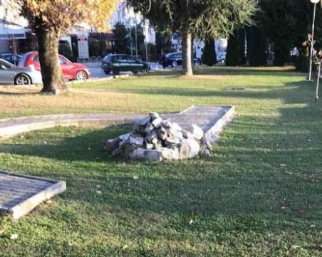 """Нова провокация! Посегнаха на паметника на българите, загинали на """"Илинден"""" в Охрид"""