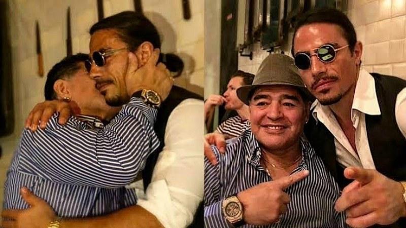 Беят на солта запази завинаги маса за Марадона