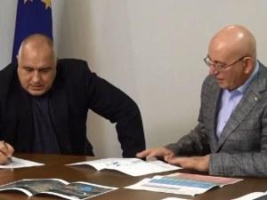 Борисов на среща с Ревизоро: Няма да има водна криза