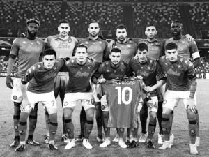 Наполи посвети победа на Марадона