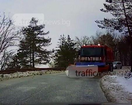 Заради снежната прогноза: Над 3000 снегорина са в готовност