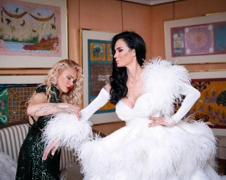 Евгения Борисова: Сватбената рокля на Цеци Красимирова е най-скъпата, която съм шила