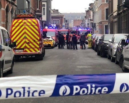 Голяма експлозия в сграда в Белгия, има ранени