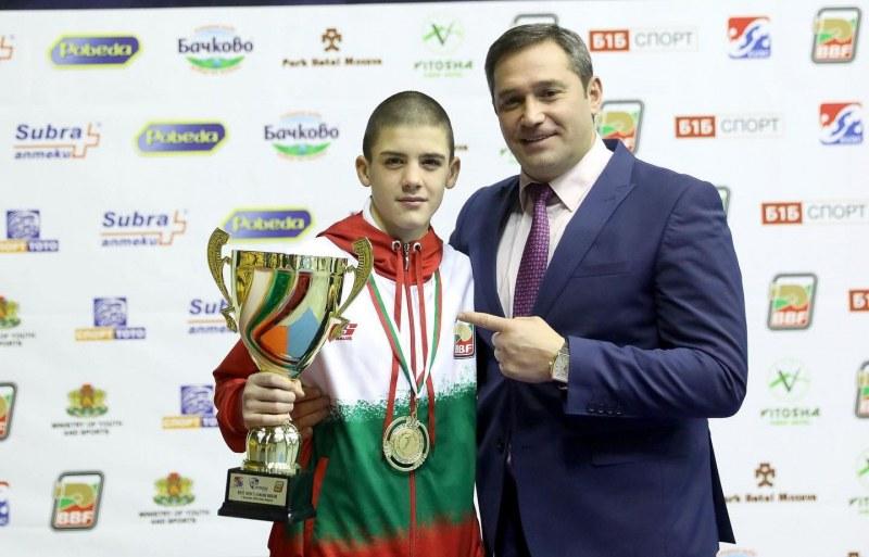 Браво! Кристиян Цветанов взе купата