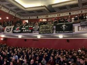 Черно-бяла Коледа онлайн, феновете на Локомотив с благотворителен жест