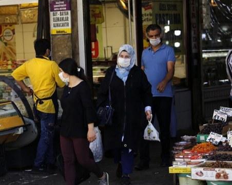 Турция с рекорден брой жертви с COVID-19 за последните 24 часа